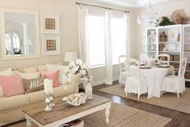 pink decor for living room and dining room starfish cottage img 8438