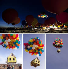 balloons that float 300 helium balloons float real up house 10 000 high
