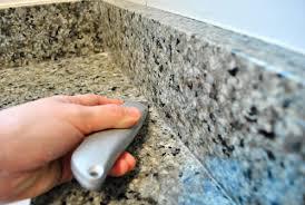 How To Remove A Bathroom Vanity Removing The Side Splash U0026 Backsplash From Our Bathroom Sink