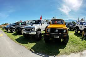 jimny katana suzuki jimny owners treated to offroading adventure autoworld com my