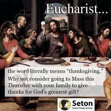 thanksgiving catholic eucharist 3 catholic