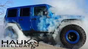 hellcat engine swap crazy hellcat powered jeep wrangler answers a question we always