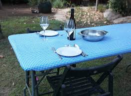 stay put table covers amazon com waterproof plastic fitted stay put table cloths covers
