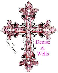 believe faith love cross tattoo design by denise a wells