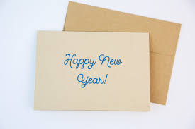 happy new year paper cards happy new year cards goods that matter