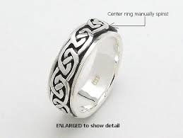 spinner rings sterling silver celtic spinner rings celtic spinner rings model