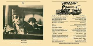 Country Comfort Elton John Tumbleweed Connection Lp Cover Art