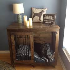 the single doggie den indoor rustic dog kennel crate