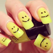 smile yellow nail polish by primark beauty babblepie