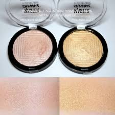 Maybelline Master Chrome best drugstore highlighters for an instant glow swatches review