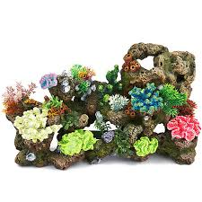 top fin coral bubbler aquarium ornament fish ornaments