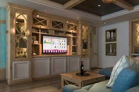 closet factory entertainment center design