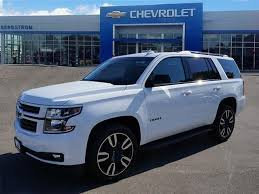 summit white 2018 chevrolet tahoe for sale at bergstrom automotive