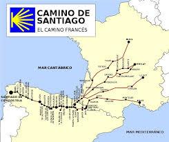 camino compostela 12 best camino presentation images on santiago de