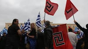 Golden Dawn Flag Golden Dawn Has Accepted Responsibility For The Murder Of