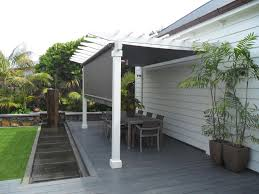 Outdoor Mesh Screen by Total Cover Awnings Shade And Shelter Experts Auckland
