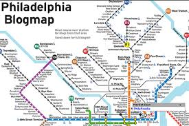 map of philly yourself on philly s map