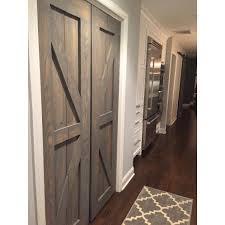 Rustic Closet Doors Hinged Bi Fold Sliding Pantry Doors By Rustic Luxe