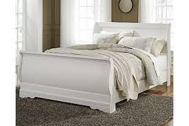 White Sleigh Bed Anarasia Sleigh Bed Furniture Homestore