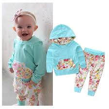 baby designer clothes aliexpress buy infant clothing hooded flower tracksuit