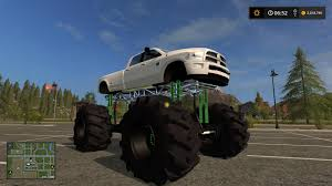 mudding trucks dodge mud truck lifted v1 0 fs 17 farming simulator 2015 15 mod