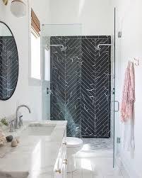 chevron bathroom ideas best 25 black chevron ideas on closet doors black
