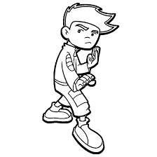 american dragon jake long coloring pages wecoloringpage