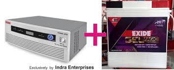 Home Ups by Exide 850va Home Ups Exide 150ah Battery No Maintenance Just