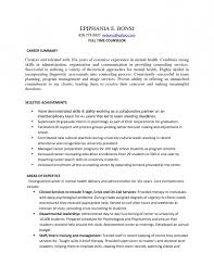 guidance counselor resume job placement counselor cover letter