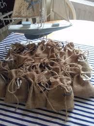 nautical wedding party hessian nautical wedding party favour bags in cwmbran torfaen