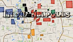 Chicago Gangs Map by Indianapolis Hood Aka Naptown Hoods W Indianapolis Gangs Map