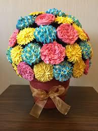 cupcake flowers cupcake flower bouquet crissa s cake corner