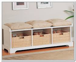 Bench With Cushion Storage Bench Cushion Treenovation