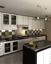 marvellous modular kitchen designs black and white 12 with