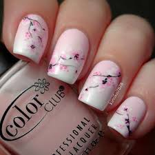 new nail design ideas manicures polish acrylic rose daisy pink