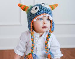 Blue Monster Halloween Costume Baby Monster Costume Etsy