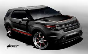 Ford Explorer Models - ford previews sema explorer and f series models ahead of 2011 show