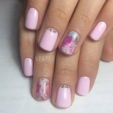 Baby Nail Art Design Charming Baby Pink Rose Nail Art Design Nails Art Nails