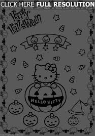 hello kitty halloween coloring pages u2013 festival collections