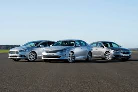 jaguar xf czy lexus gs kia optima vs ford mondeo vs vauxhall insignia auto express