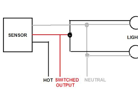 fascinating motion light wiring diagram motion detector diagram