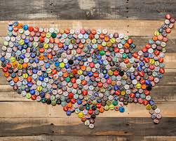 Map Art Best 25 Beer Caps Ideas Only On Pinterest Bottle Cap Art