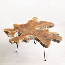 teak root coffee table teak furniture uncommongoods