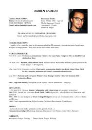 Spanish Resume Examples by Resume In English Language Virtren Com