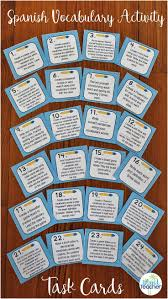 17 best images about span class vocab activities on pinterest