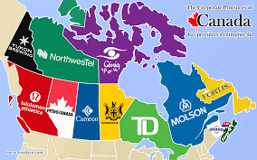 Canada Map by The Corporate Provinces Of Canada U2014 Steve Lovelace