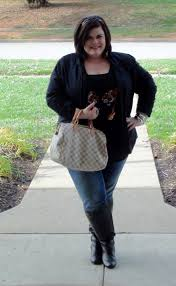 Plus Size Womens Clothing Stores Thestylesupreme Plus Size Ootd Sequins Jeans And Riding Boots