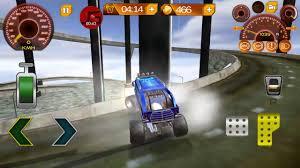 monster truck racing 3d monster truck stunt racing 3d gameplay impossible track u0026