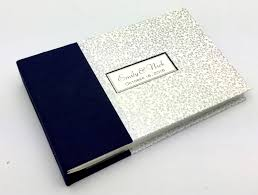 4x6 photo book navy and silver mini photo album for 4x6 photos