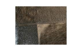 Patchwork Cowhide Viyet Designer Furniture Rugs Design Within Reach Black